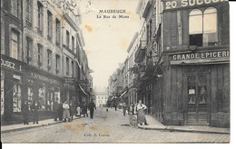 "MAUBEUGE ""  Rue De Mons , Belle Animation""   N°799 - Maubeuge"