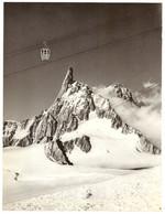1959 - Héliogravure - Chamonix (Haute-Savoie) - Télécabine De L'Aiguille Du Midi - PRÉVOIR FRAIS DE PORT - Unclassified