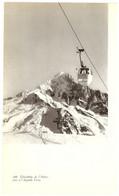 1959 - Héliogravure - Chamonix (Haute-Savoie) - La Fléchère Télécabine De L'Index - PRÉVOIR FRAIS DE PORT - Unclassified
