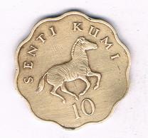 10 SENTI  1977 TANZANIA /7514/ - Tanzanie