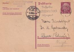 ALLEMAGNE 1935    ENTIER POSTAL/GANZSACHE/POSTAL STATIONARY CARTE DE JENA - Allemagne