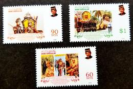 Brunei Darussalam Sultan Hassanal 30th Anniv Coronation 1998 Royal (stamp) MNH - Brunei (1984-...)
