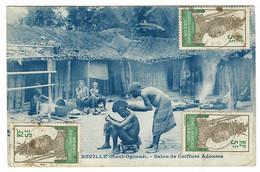 GABON - Salon De Coiffure Adouma - Gabón