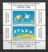 1995 MNH Cept Cyprus Turkish - Europa-CEPT