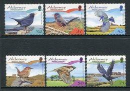 Alderney 2007  **/MNH   Correo Yvert Nº  305/310 Pájaros Sedentarios (6 Val.) - Alderney