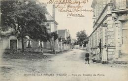 France - 86 - Scorbé-Clairvaux - Rue Du Champ De Foire - Aire Urbaine De Châtellerault - France