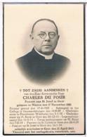 Dp. Pastoor. Du Four Charles. ° Ninove 1881 † Gent 1943 - Godsdienst & Esoterisme