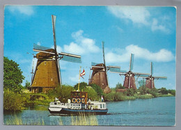 NL.- Met De Boot Langs De Hollandse Molens. - Ferries