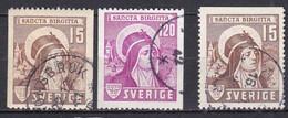 SE128 – SUEDE – SWEDEN – 1941 –ST BRIDGET – Y&T 290/1 USED 14 € - Gebruikt