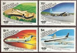 Grenada Grenadines 1985 ICAO Anniversary Aircraft MNH - Grenada (1974-...)