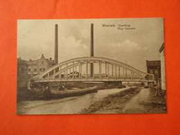 Wervick - Wervik  Grensbrug  -  Pont Frontiére                   ( 2 Scans ) - Wervik