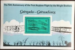 Grenada Grenadines 1978 Powered Flight Aircraft Minisheet MNH - Grenada (1974-...)