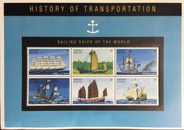 Grenada Grenadines 1995 Sailing Ships Sheetlet MNH - Grenada (1974-...)