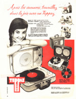 "PUB ELECTROPHONE  "" TEPPAZ ""   1958 ( 1 ) - Music & Instruments"