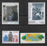 FRANCE - Yvert N° 4286-4305-4322-4323 ** - France