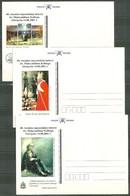 9 Cartes RARE 2500 Exemplaires, 60 ème Anniversaire De La Mort De Maximilien Kolbe à AUSCHWITZ, Camp De Concentration - Stamped Stationery