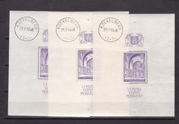 Belgique - BL9 Avec Trace De Charnière - Voir Desc. - Cote ~50€ - Blocs 1924-1960