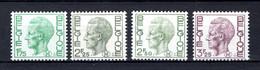 M2/M5 MNH 1971-1975 - Type Nr 1581 Koning Boudewijn - Military (M Stamps)