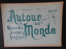 """PERSE - TYPES, COSTUMES ET MOEURS - FASCICULE """"AUTOUR DU MONDE"""" AQUARELLES SOUVENIRS DE VOYAGES - Voyages"""