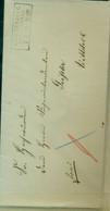 Vorphila, Brief Von Boitzenburg/ Wittstock 07.09.1865 Siegel Liebert Ausgabest. - [1] Prephilately