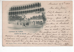Spanje Spain Espana - Corrida De Toros - Suerte De Matar - Madrid ? - - 1900 - Spain