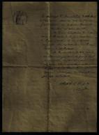 Documents Historiques CERTIFICAT MEDICAL MEDECIN 1920 ALBERTVILLE SAVOIE TIMBRE SEC + HUMIDE REPUBLIQUE FRANCAISE - Historische Dokumente