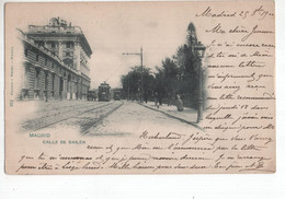 Spanje Spain Espana - Madrid - Calle De Bailen - Tram - 1900 - Spain