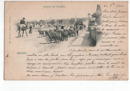 Spanje Spain Espana - Madrid - Puente De Toledo - 1900 - Spain