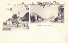 Gruß Aus Bözen Bezirk Brugg Kanton Aargau 1915 - AG Aargau