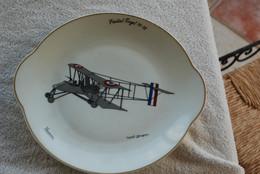 ASSIETTE AVION VIEILLE TIGE 14-18 - Luchtvaart