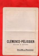 G2109 - CLEMENCE PELISSIER - SALON De PROVENCE - COMMANDE - Alimentos