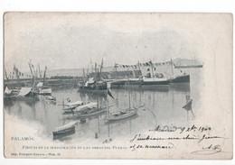 Spanje Spain Espana - Palamos - Fiestas En La Inauguracion De Las Obras Del Puerto   - 1904 - Spain
