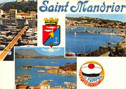 Saint Mandrier (83) - Le Port - Multivues - Blason - Sin Clasificación