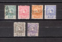Serbia  1881  .-   Y&T  Nº    27/32 - Serbie