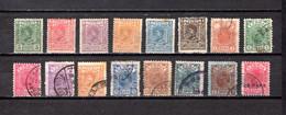 Serbia  1890-1900  .-   Y&T  Nº    33/38-40/49 - Serbie