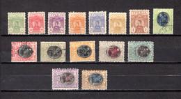 Serbia  1900-1903  .-   Y&T  Nº    51/57-61/64-66/69 - Serbie