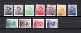 Serbia  1911  .-   Y&T  Nº    93/101-103/104 - Serbie