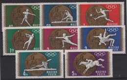 JO68/E36 - HONGRIE N° 2020/27 Neufs** Jeux Olympiques 1968 - Neufs