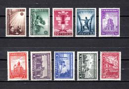 Serbia  (  Ocupación Alemana  )    1941-42 .-   Y&T  Nº    47/50-51/52-54-56/58     *  C/charniere - Serbia