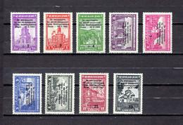 Serbia  (  Ocupación Alemana  )    1944 .-   Y&T  Nº    79/87     *  C/charniere - Serbie