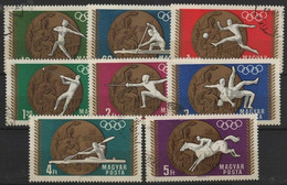 JO68/E37 - HONGRIE N° 2020/27 Obl. Jeux Olympiques 1968 - Hongrie