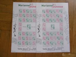 FRANCE 2013 F4774A ET F4774B * * MARIANNE ET LA JEUNESSE  LE JEU - Nuovi