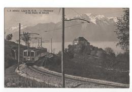 Zwitserland Schweiz Suisse - Ligne MOB Le Chatelard Et Les Alpes De Savoie - Tram - 1911 - Switzerland