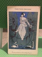 Ancienne Carte Postale Illustrée - B. De Selles - Temps De Guerre - Passe Temps Nocturne - Toute Seule Les Nuits - Andere Zeichner