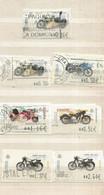 Espagne  , Lot 19 De 7 Timbres Motos , Sur Support Papiers - 1931-Aujourd'hui: II. République - ....Juan Carlos I