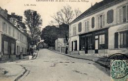 DPT 78 GROSROUVRE Centre Du Village - Altri Comuni