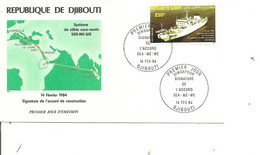 Djibouti - Bateau ( FDC De 1984 à Voir) - Djibouti (1977-...)
