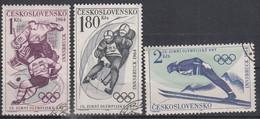 TSJECHOSLOWAKIJE - Michel - 1964 - Nr 1447/49 - Gest/Obl/Us - Used Stamps