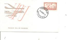 Mexique - UPU ( FDC De 1950 à Voir) - Mexico