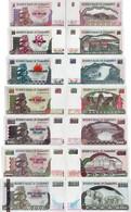 Zimbabwe 1997-2004 - Set 7 Pcs. 5+10+20+50+100+500+1000 Dollars Pick 5-12 UNC - Zimbabwe